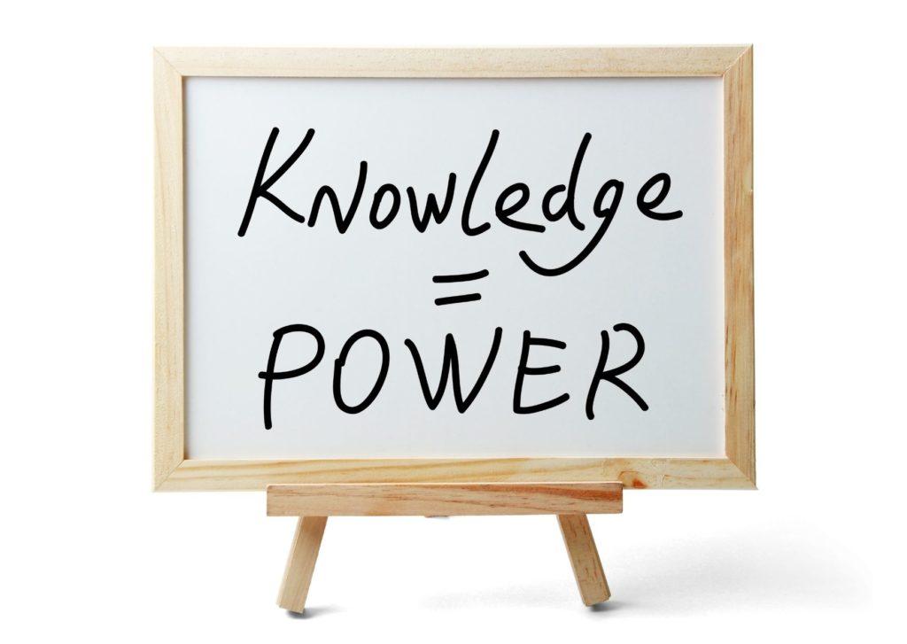 ידע זה כוח בדרך להתעשרות